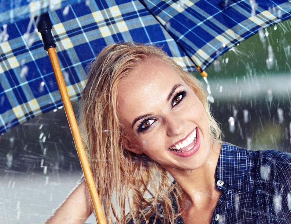Rainwater Cause Damage to hair